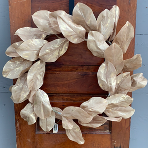 "24"" Magnolia Leaf Wreath - Holiday Wreath"