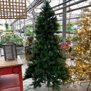 "7.5'x62"" Prelit Mountain Fir Tree - Christmas Tree"