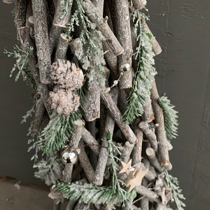 "36"" Cone Tree WhiteWash Green - Christmas Tree"