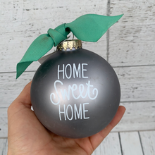 Load image into Gallery viewer, Home Sweet Home - Glass Holiday Ornament