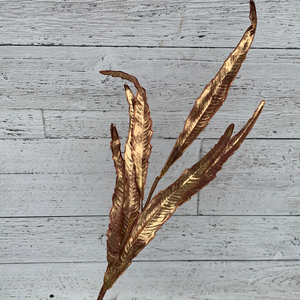 "31"" Willow Leaf Spray - Holiday Pick"