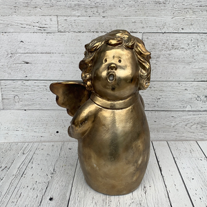 "15"" Gold Angel - Holiday Decor"