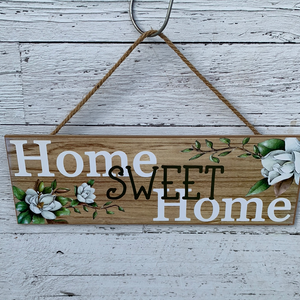 "15""L X 5""H Home Sweet Home Sign - Everyday Clearance"