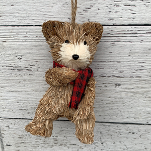 Bear Ornament 6""