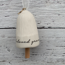 Load image into Gallery viewer, Grandmother Mini Blessing Bell Holiday Ornament
