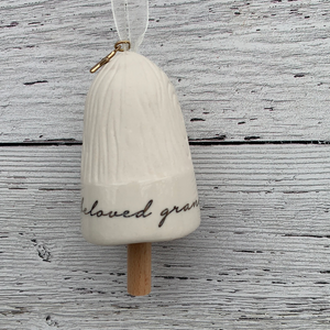 Grandmother Mini Blessing Bell Holiday Ornament