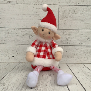 "20"" Elf Red/White - Holiday Decor"