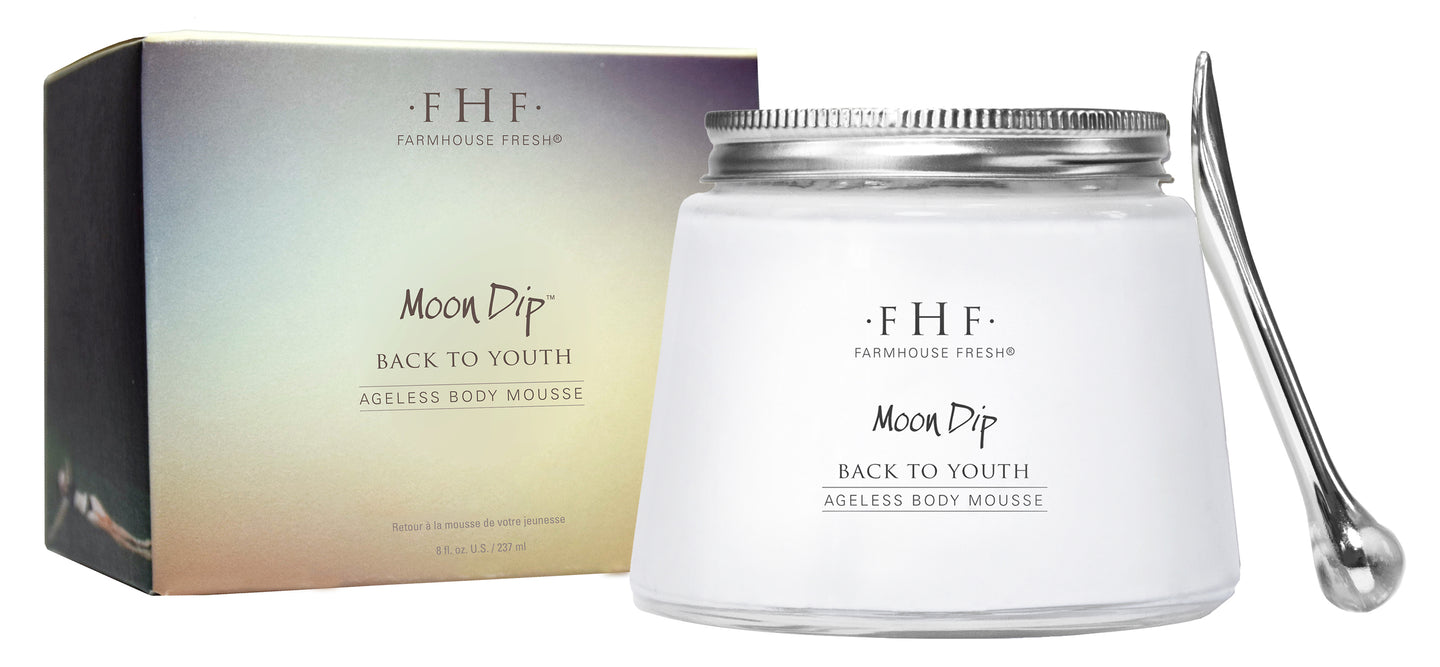 Farmhouse Fresh: Moon Dip - Back to Youth Ageless Body Mousse