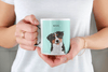 Illustrated Dog Portrait Custom Mug - My Pup Art