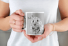 Sketch Dog Portrait Custom Mug - My Pup Art