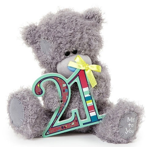 8 Inch 21st Birthday Plaque Me to You Bear
