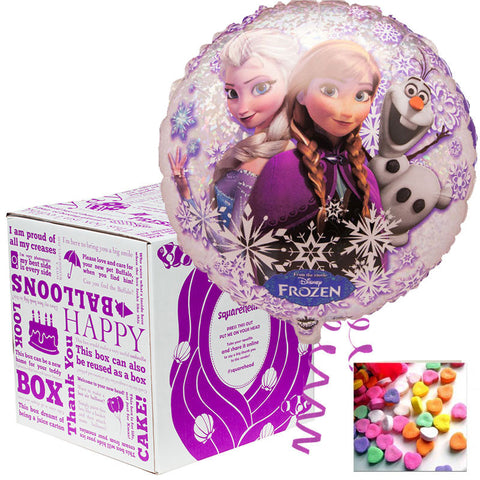 Squarehead Frozen Helium Balloon Gift - Free Delivery
