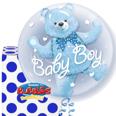 Baby Boy Plastic Bubble Balloon
