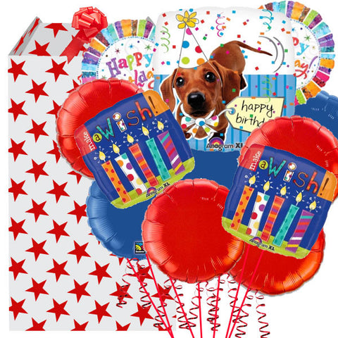 Big Dog Birthday Balloon Bouquet