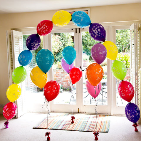 Happy Birthday Balloon Arch Kit