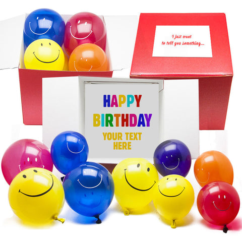 Personalised Box of Birthday Smiles FREE POSTAGE