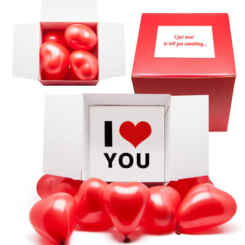Red Box of Love FREE POSTAGE