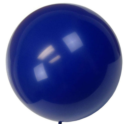 "36"" Blue Large Latex Balloon"
