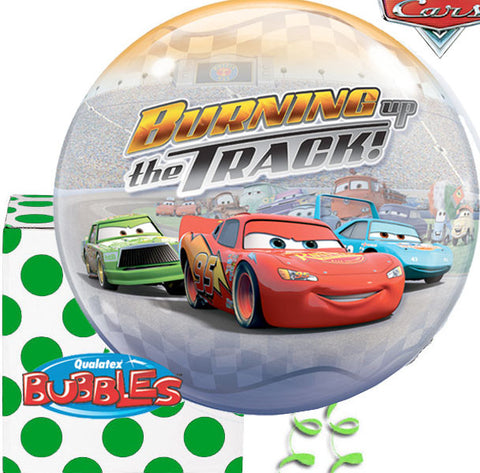 Cars Plastic Bubble Balloon
