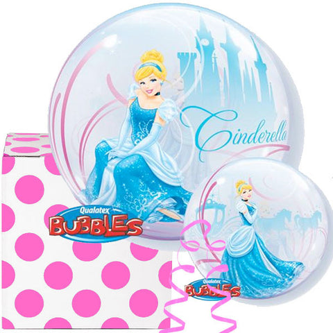 Cinderella Plastic Bubble Balloon