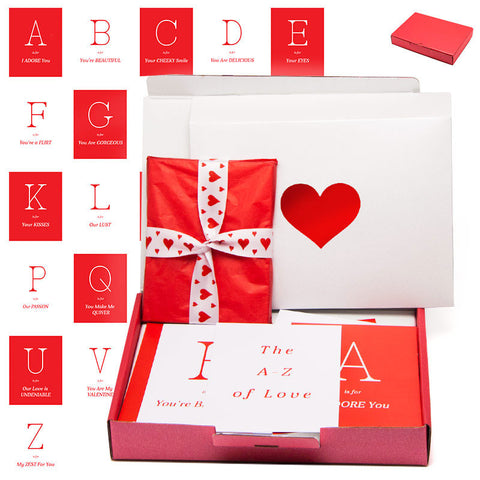 The A-Z of Love FREE FIRST CLASS DELIVERY
