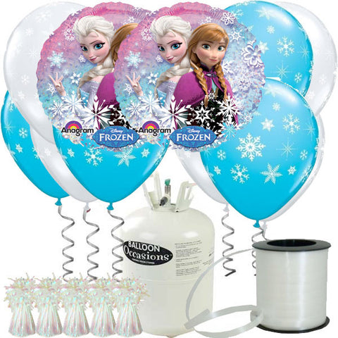 Frozen Helium Balloon Party Package