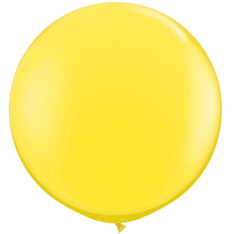 "36"" Yellow Large Latex Balloon"