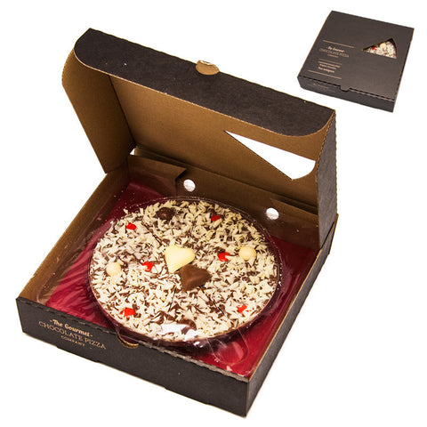 Gourmet Belgian Chocolate Love Pizza 7 inches