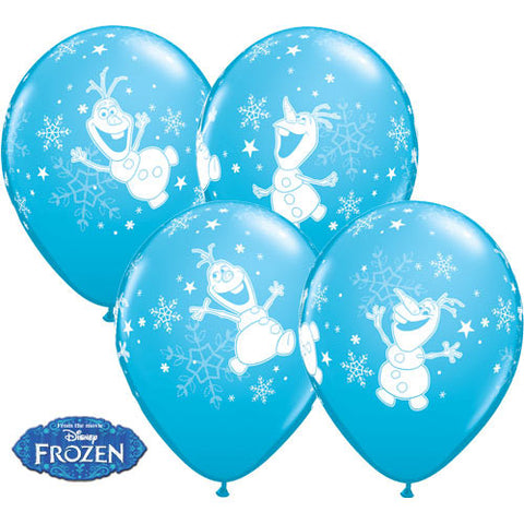 10 Olaf Frozen Happy Birthday Balloons