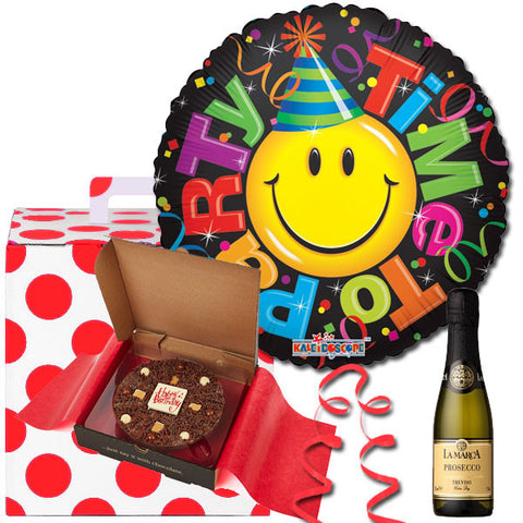 Time To Party Surprise Balloon in a Box Gift
