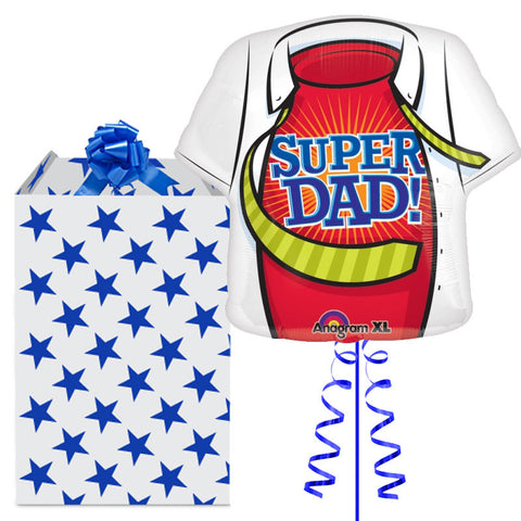 Super Dad Supershape Foil Balloon