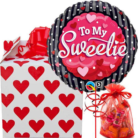 To My Sweetie Balloon Gift
