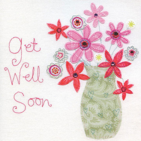 Get Well Soon Vintage Card