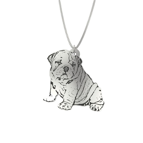 Custom Pet Portrait Pendant Jewelry