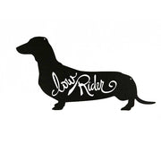 Dachshund Low Rider - Metal Wall Art/Decor