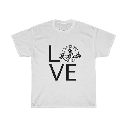 Paw House Love Tee