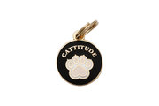 Pet ID Tag - Cattitude