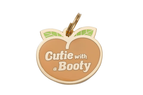 Pet ID Tag - Cutie with a Booty