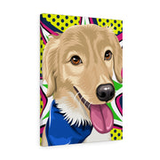 Pop Art Custom Pet Canvas