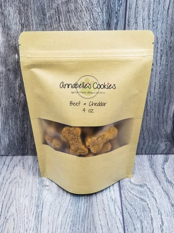 Beef & Cheddar Handmade Gourmet Dog Treats