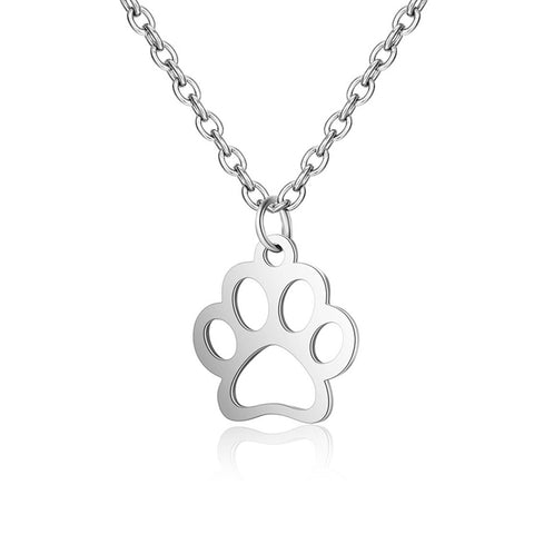 Paw Pendant Necklace