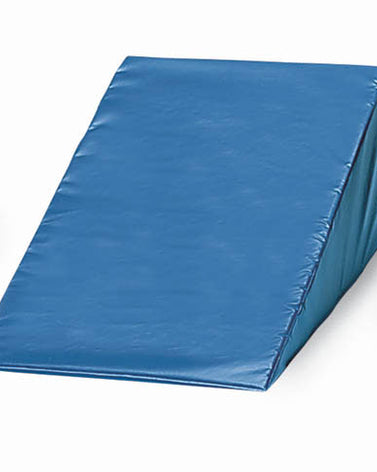 Vinyl Covered Foam Wedge 10 H X 24 W X 28 L  Navy