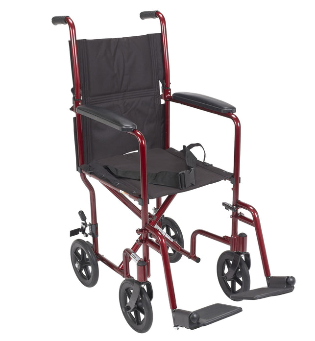Wheelchair Transport Lightweight Red 19