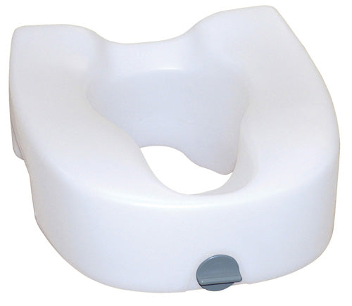 Raised Toilet Seat w-Lock w-o Arms