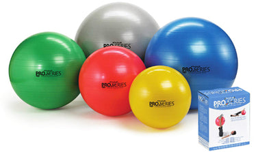 Pro-series Exercise Ball Slow-deflate Green 65 Cm.