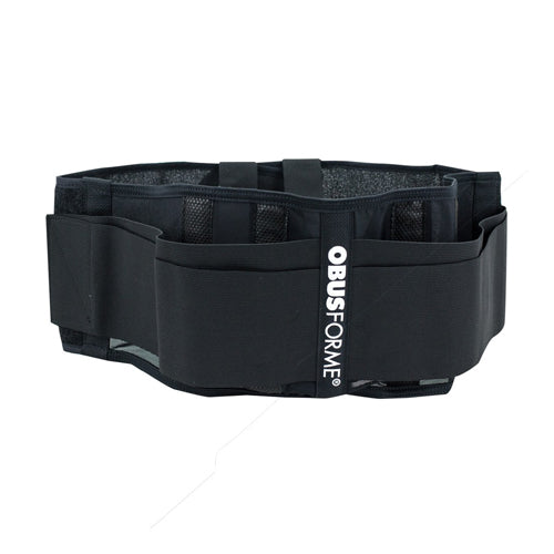 Back Belt-unisex  Medium-large Black  Obusforme