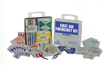 First Aid Kit  50 Person In A Poly Case