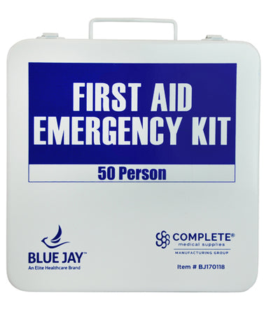 First Aid Kit  50 Person In A Metal Case
