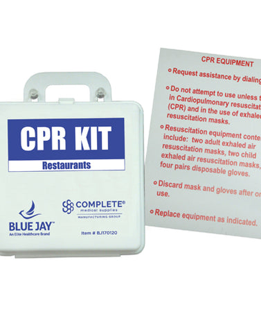 First Aid Kit - Cpr Restaurant W-poster