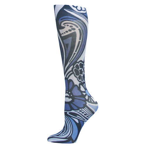 Blue Jay Fashion Socks (pr) Blue Megan 8-15mmhg